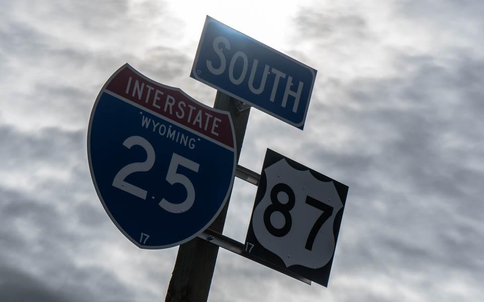1000 Kilometer auf der Interstate durch Wyoming
