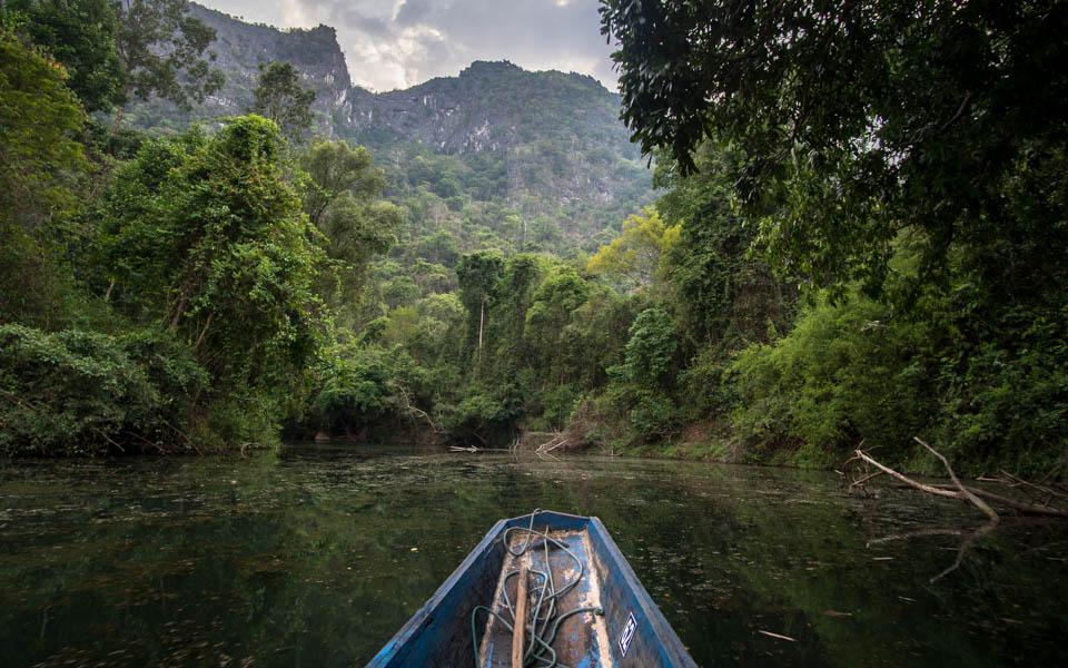 Kurz durch Laos