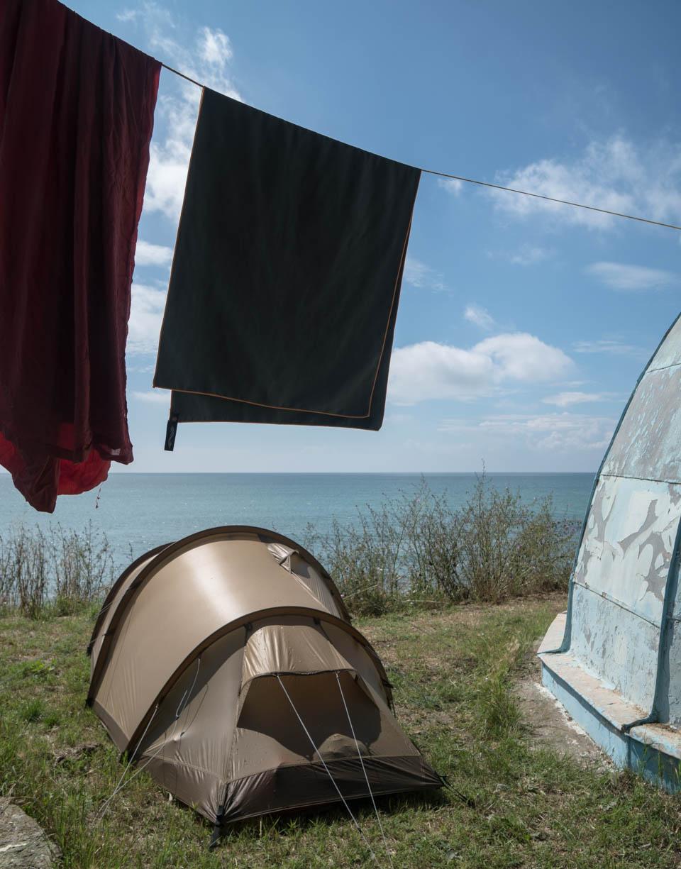 An der Küste des Schwarzen Meeres