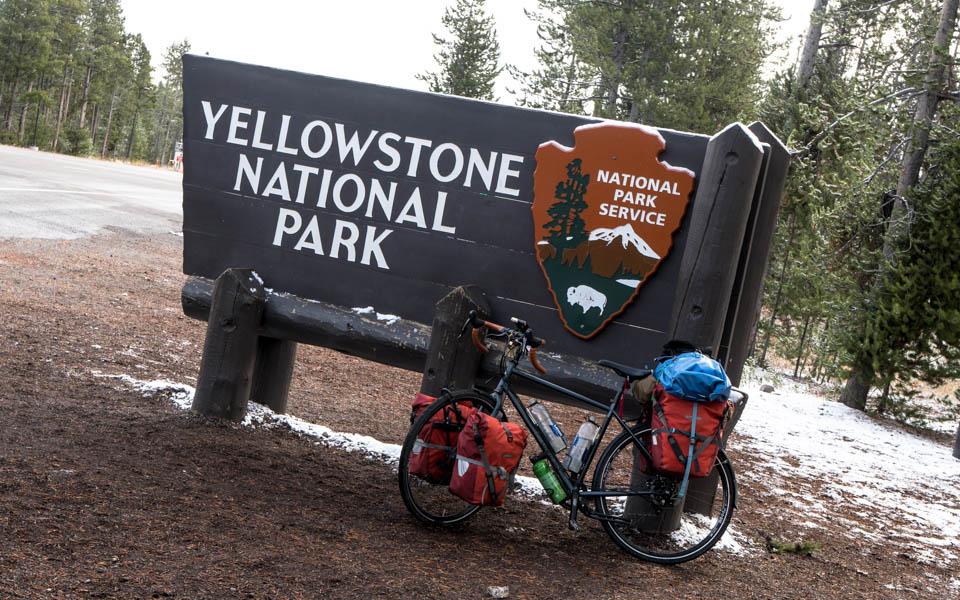 Fast schon Winter im Yellowstone