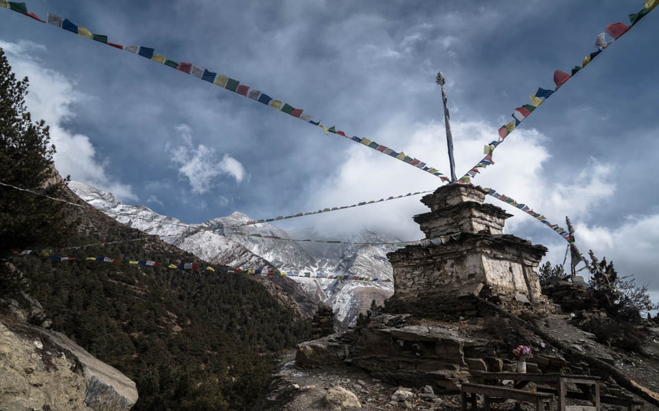 Round the Annapurnas